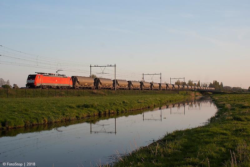 DBC loc 189 024 - 46603(Aluminiumoxide) Moordrecht 21.04.2018