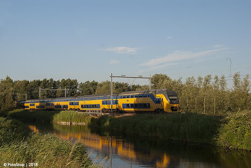 VIRM 8646 Noordwijkerhout 22.07.2018