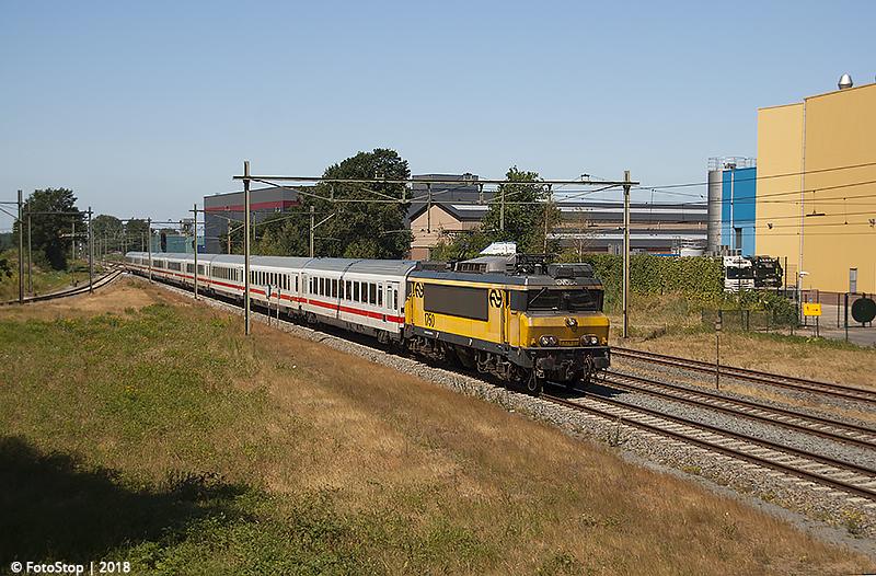 NSR 1750 IC Berlijn Barneveld-Noord 14.07.2018