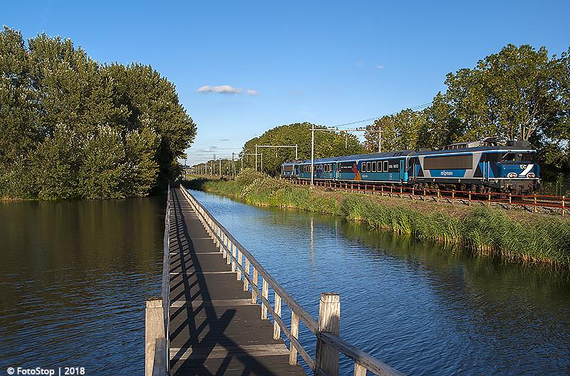 RFS 101001 - dinertrain - RFS101002 - trein 33200 - Haarlemerliede 11.08.2018