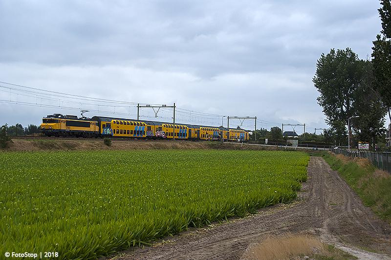 NSR 1780 - DDM1 - trein.6356 Hillegom 19.08.2018