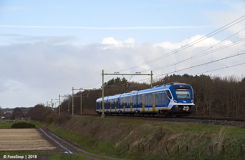 NS SNG - 2719 - Trein - 6959 - Hillegom 09.12.2018